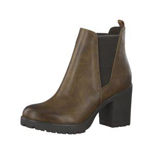 MARCO TOZZI Chelsea boty  světle hnědá