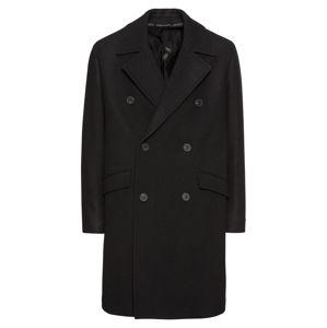 The Kooples Zimní kabát 'MANTEAU RELAXED'  černá