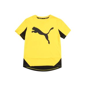 PUMA Tričko 'Active Sports Cat Graphic'  žlutá