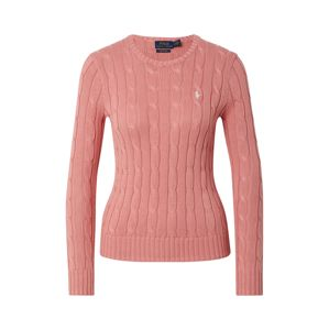 POLO RALPH LAUREN Svetr 'JULIANNA-CLASSICLONG SLEEVE-SWEATER'  růže