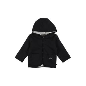 STACCATO Přechodná bunda  černá / bílá