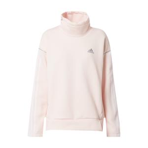 ADIDAS PERFORMANCE Sportovní svetr  bílá / pink
