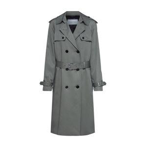 Calvin Klein Přechodný kabát 'TRANSSEASONAL LS TRENCH COAT'  khaki