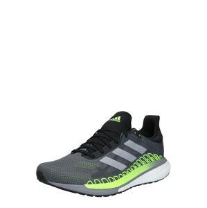 ADIDAS PERFORMANCE Běžecká obuv 'Solar Glide'  svítivě zelená / tmavě šedá / světle šedá