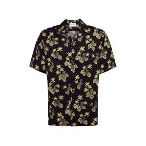 THE KOOPLES SPORT Košile 'CHEMISE'  žlutá / černá