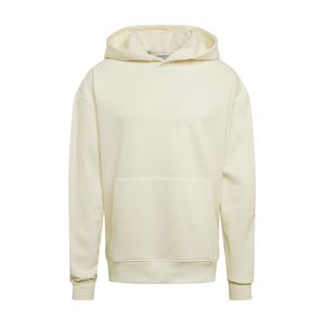 NU-IN Mikina 'Layered Cuff Hoodie'  krémová / offwhite