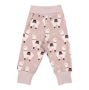 Walkiddy Kalhoty  černá / starobéžová / pastelově růžová / béžová