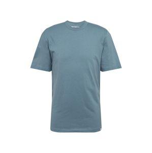 Samsoe Samsoe Tričko 'Hugo'  kouřově modrá