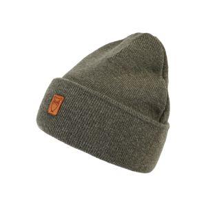 KnowledgeCotton Apparel Čepice 'Beanie organic wool - GOTS'  jedle
