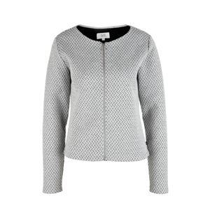 Q/S designed by Mikina s kapucí  světle šedá / tmavě šedá