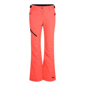 ICEPEAK Outdoorové kalhoty 'CURLEW'  korálová / černá