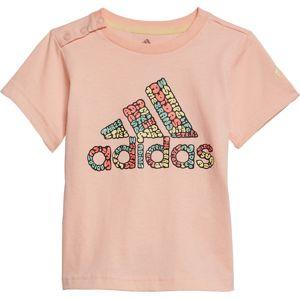 ADIDAS PERFORMANCE Tričko  broskvová / mix barev