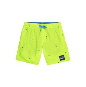 O'NEILL Plavecké šortky 'PB MINI PALMS SHORTS'  svítivě žlutá