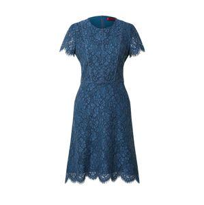 HUGO Koktejlové šaty 'Keliese'  tmavě modrá