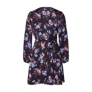 Mela London Košilové šaty 'FABRIC TIE PRINTED SHIRT DRESS'  černá