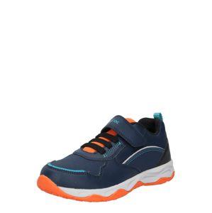 GEOX Tenisky 'CALCO'  oranžová / námořnická modř