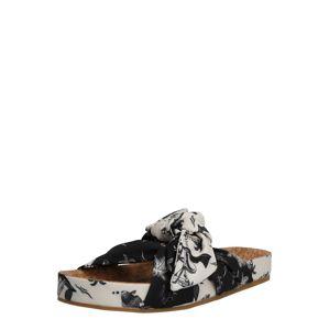SCOTCH & SODA Pantofle 'Yolin'  bílá / zelená / černá