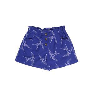 UNITED COLORS OF BENETTON Kalhoty  bílá / modrá