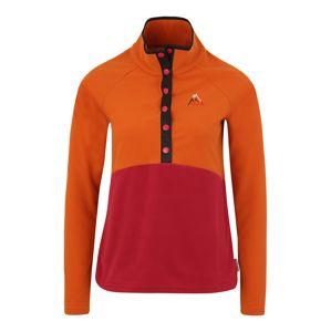 Maloja Funkční tričko 'AlbulaM'  oranžová / červená