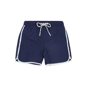 STACCATO Plavecké šortky  marine modrá / bílá