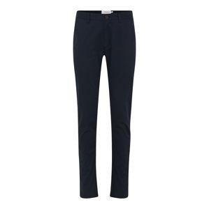 FARAH Chino kalhoty 'ELM'  námořnická modř