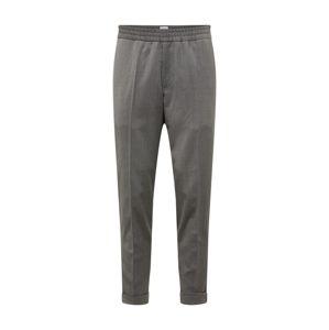 Filippa K Kalhoty s puky 'M. Terry Gabardine Cropped Trouser'  šedá