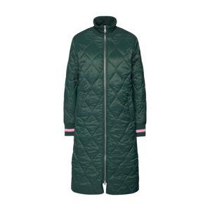 SISTERS POINT Přechodný kabát  tmavě zelená