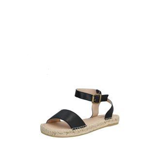 espadrij l´originale Sandály 'Nimes'  černá