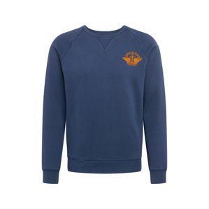 Dockers Mikina  tmavě modrá / oranžová