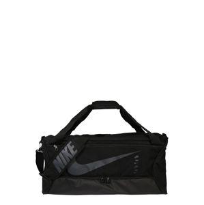 NIKE Sportovní taška 'Brasilia 9.0'  černá