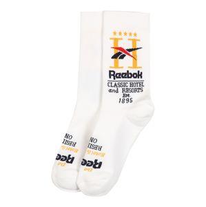 Reebok Classic Ponožky 'CL Hotel Sock WHITE'  bílá