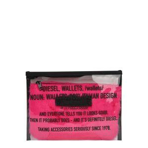 DIESEL Kosmetická taštička ' BRELINDA '  pink / černá