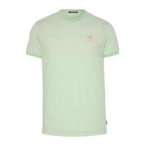 CHIEMSEE Funkční tričko  bílá / světle zelená