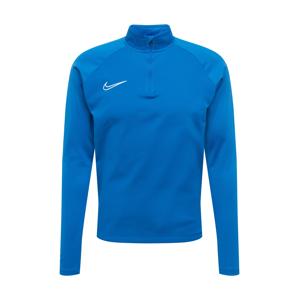 NIKE Funkční tričko  bílá / královská modrá