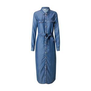 Noisy may Košilové šaty  modrá