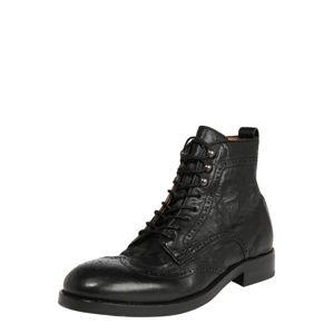 Hudson London Šněrovací boty 'Sherwood'  černá