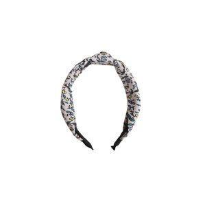 EDITED Šperky do vlasů 'Lionne'  béžová / zelená / žlutá