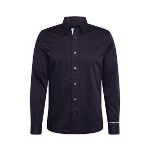 Calvin Klein Jeans Společenská košile  černá