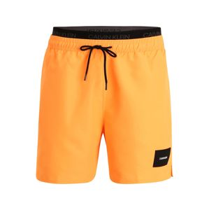 Calvin Klein Swimwear Badeshorts  oranžová / černá