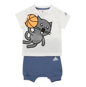 ADIDAS PERFORMANCE Sportovní oblečení 'I Summer'  bílá / modrá / šedá / žlutá