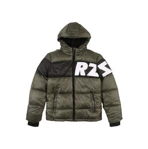 Raizzed Přechodná bunda 'Tacoma'  zelená / černá / bílá