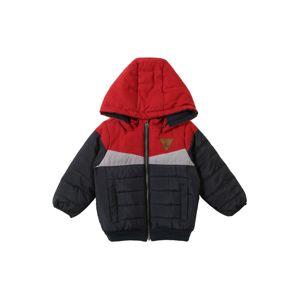 NAME IT Přechodná bunda  tmavě modrá / červená / bílá