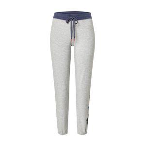 PJ Salvage Pyžamové kalhoty 'Lounge'  šedá / námořnická modř