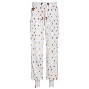 naketano Kalhoty  šedý melír