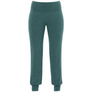 PALMERS Pyžamové kalhoty 'Garden Nights'  zelená