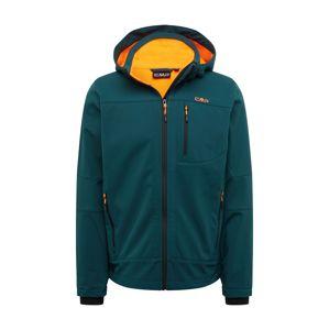 CMP Outdoorová bunda  oranžová / petrolejová