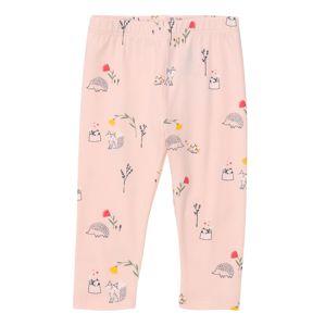 GAP Kalhoty  růžová / černá