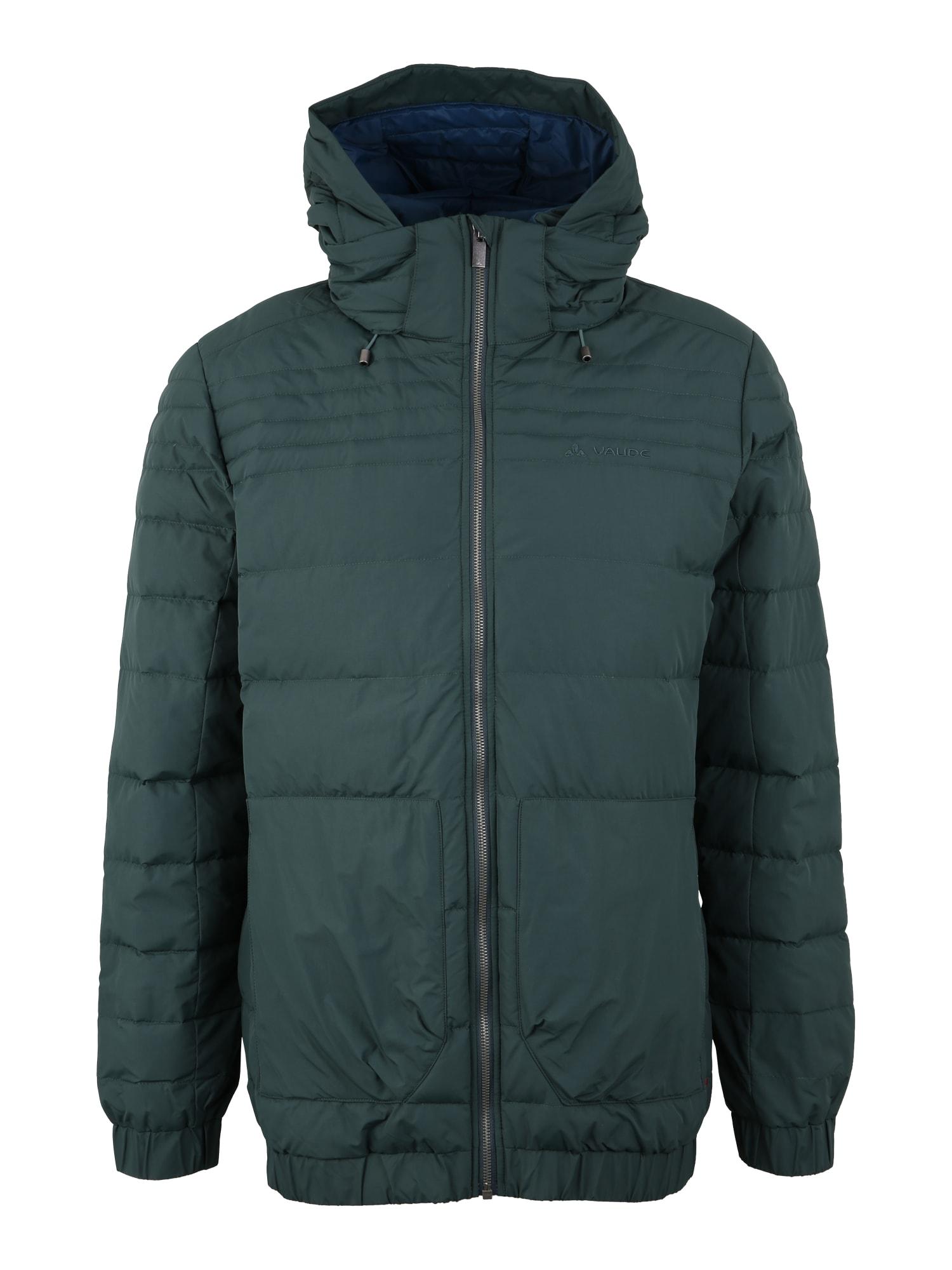VAUDE Sportovní bunda 'Lundby'  tmavě zelená