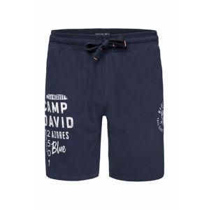 CAMP DAVID Kalhoty  noční modrá / bílá