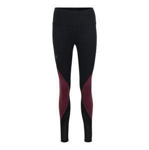 UNDER ARMOUR Sportovní kalhoty 'UA Rush Legging'  fialová / černá